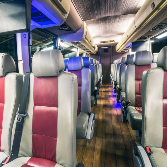 Charter Bus Rental Houston, Texas