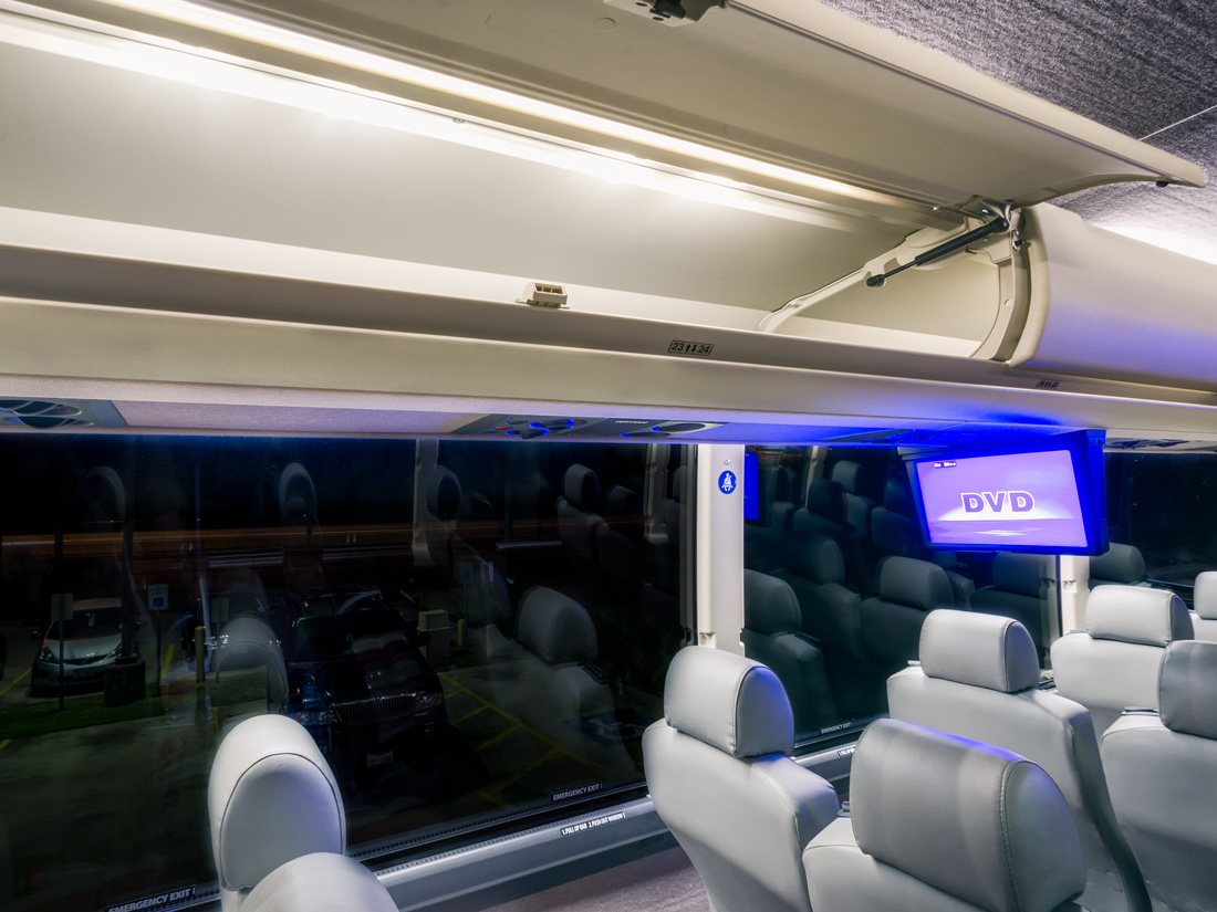 Charter Bus Houston, Texas