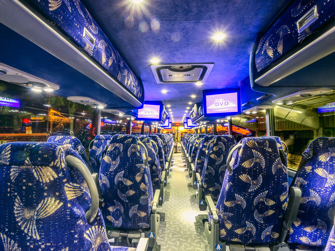 Charter Bus Texas
