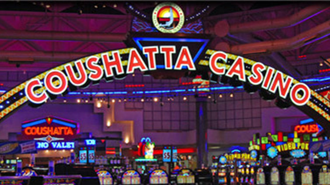 Coushatta casino high or low ceilings gambling studies ucla