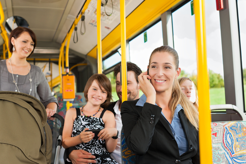Employee Transportation Benefits, Charter Bus Texas