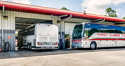 Bus Rental Texas, Charter Bus Safety