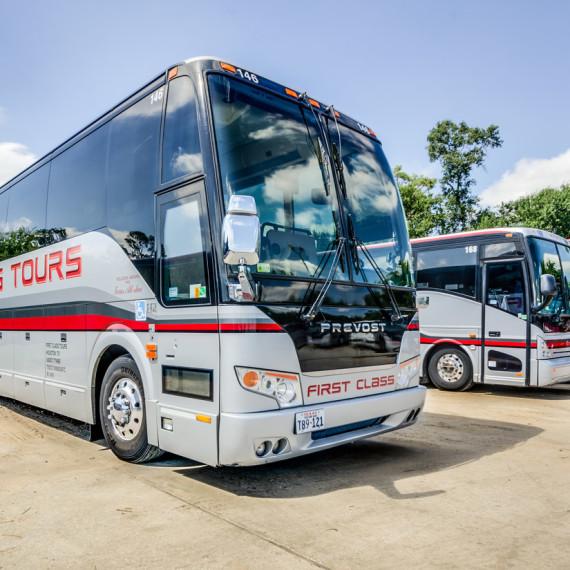 Charter Bus Rental Houston, Texas