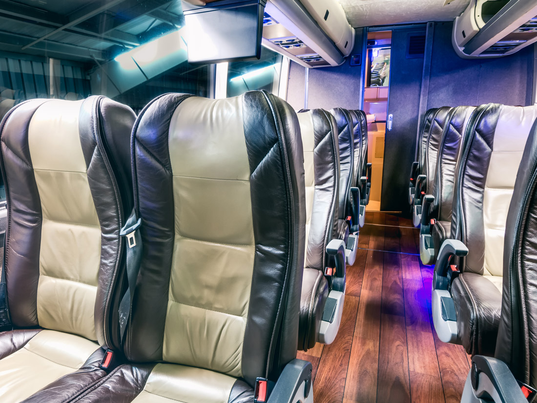 Charter Bus Rental Houston