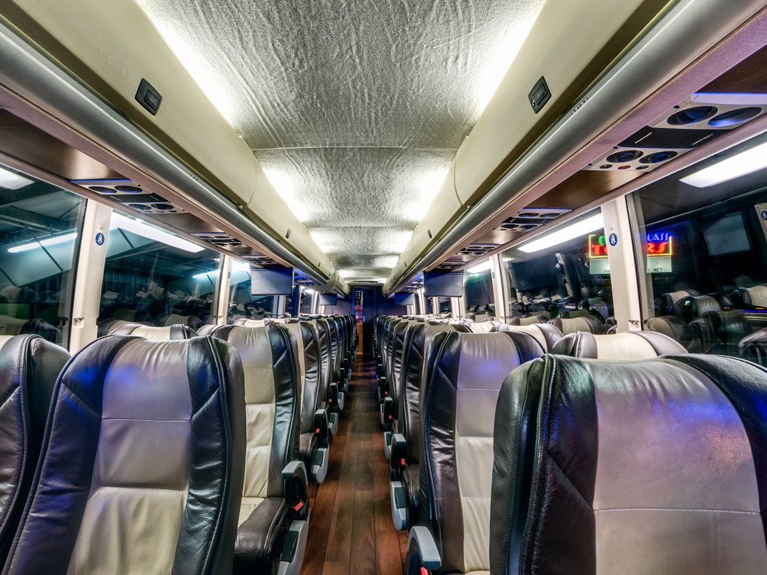 Charter Bus Rental Texas