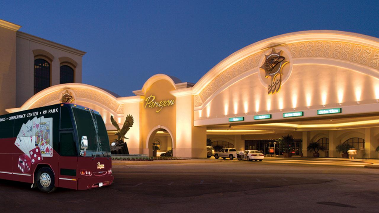 Bus Rental Houston, Texas , Paragon Casino