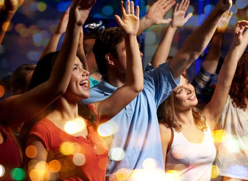 Concertgoers, Charter Bus Rental Texas