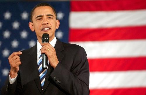 Barack Obama, Houston Texas Party Bus