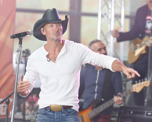 Tim McGraw, Houston Texas Party Bus