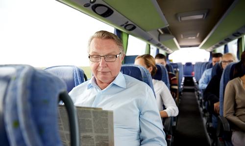 senior travel, Charter Bus Rental Texas
