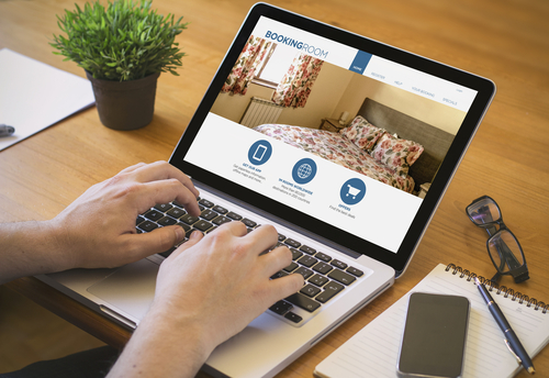 booking a hotel room, Charter Bus Texas