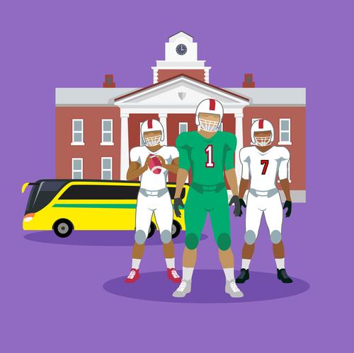 Transportation for Teams, Charter Bus, Charter Bus Rental Texas