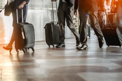 business travel, charter bus rental Houston
