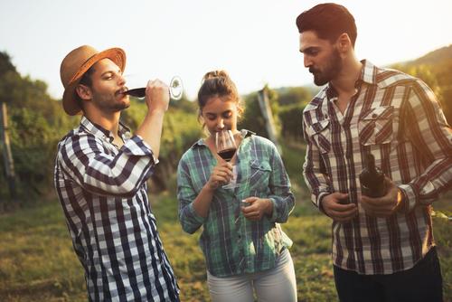 wine tastings, charter bus Houston